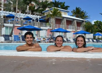 Nicolás F., Laura F. y Melina M. - Caneel Bay - Virgin Islands-